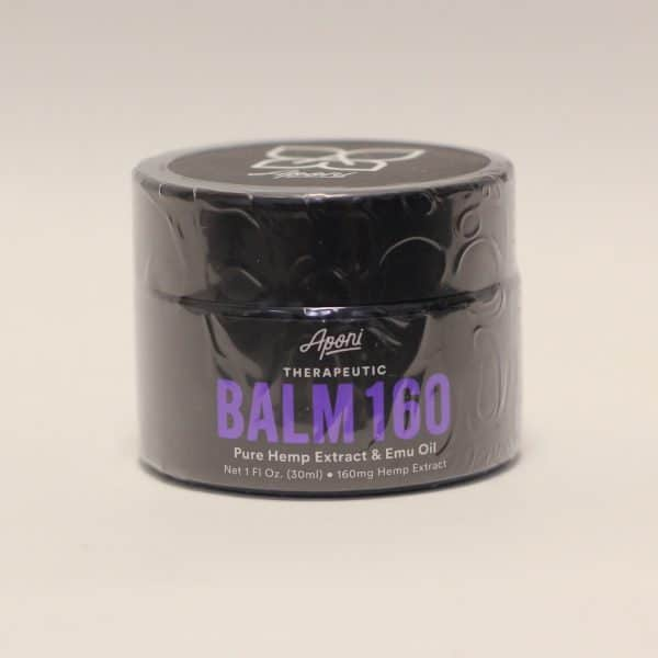 Aponi - 160mg CBD Therapeutic BalmHemp Extract & Emu Oil