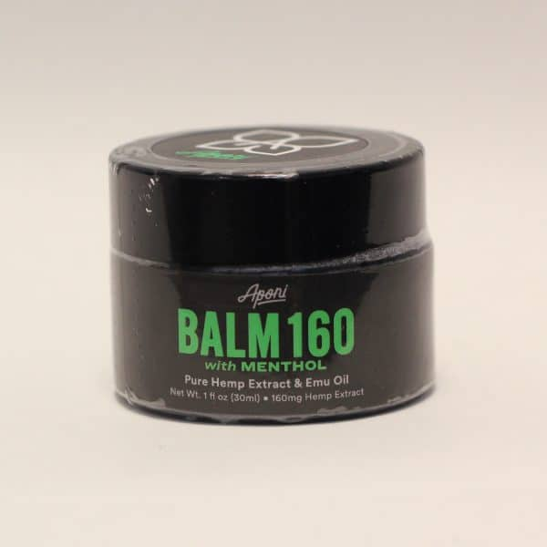 Aponi - 160mg Hemp Balm Menthol Hemp Extract & Emu Oil