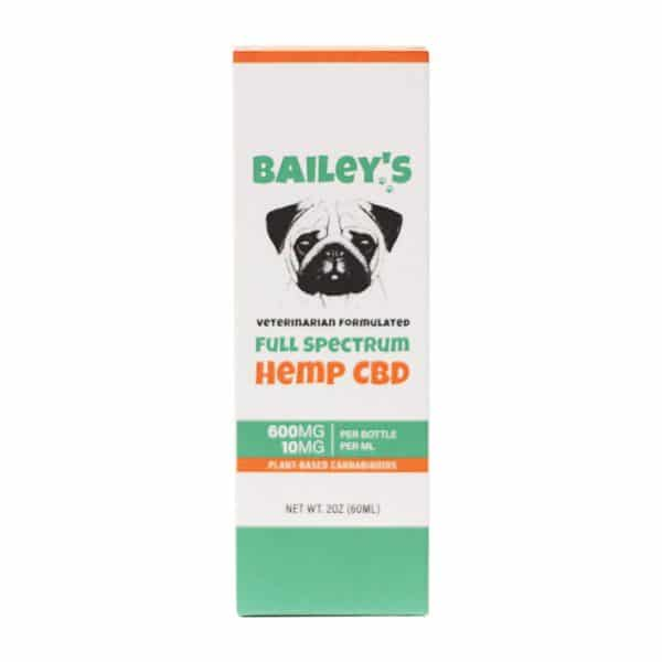 Bailey's - Lab Tested Full Spectrum CBD Tincture For Dogs