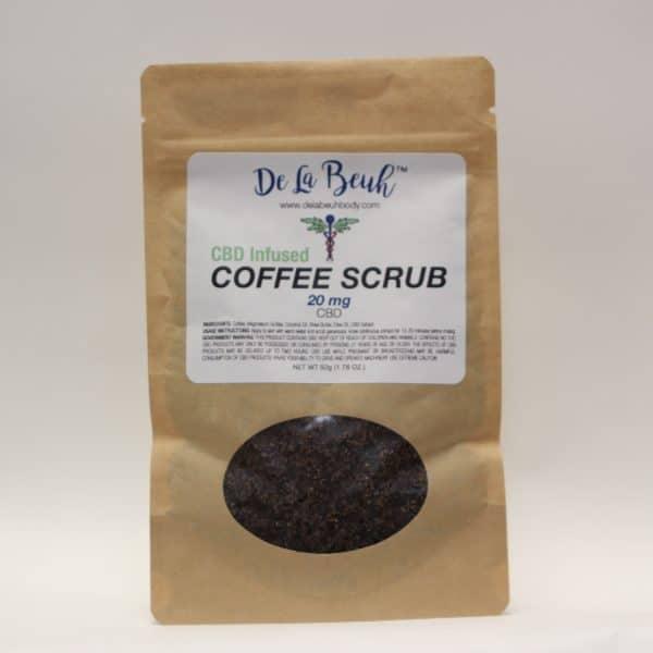 De La Beuh - Organic Vegan CBD Coffee Scrub