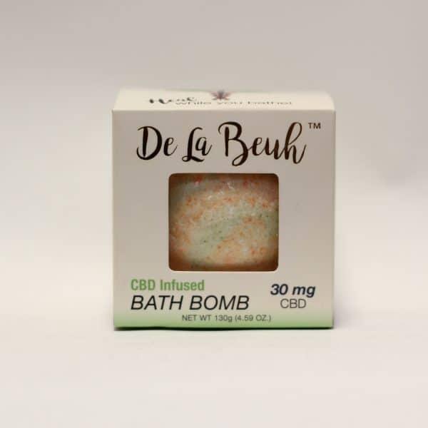 De La Beuh - 30mg CBD Infused Bath Bomb