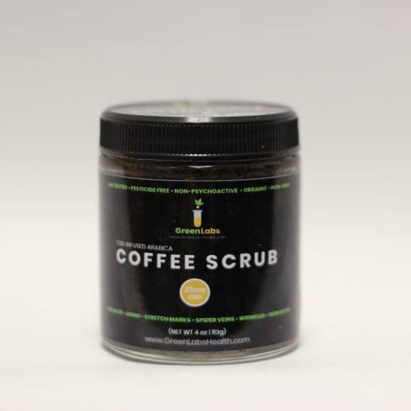 Green Labs - CBD Infused Arabica Organic Coffee Scrubs
