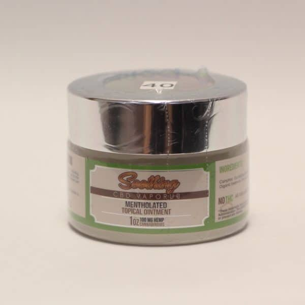 HerbaLeaf - 100mg CBD Soothing Vaporub Mentholated