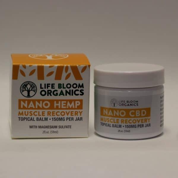 Life Bloom Organics - 150mg Hemp Muscle Recovery Balm