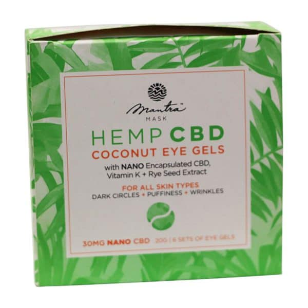 Mantra Mask - CBD Coconut Eye Gels For All Skin Types
