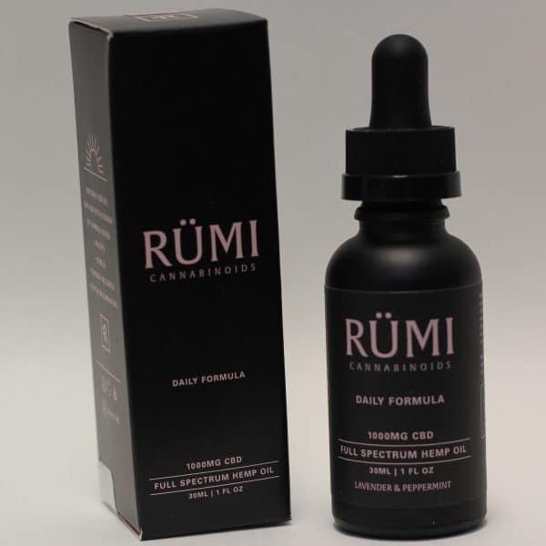 Rumi - 1000mg CBD Daily Formula Tincture Lavender & Peppermint