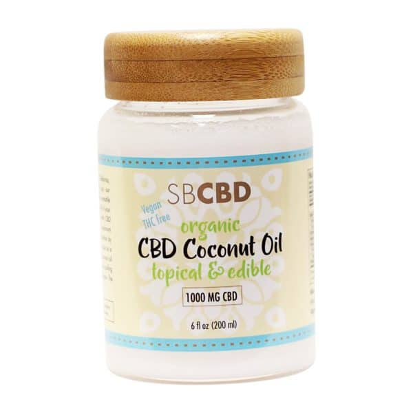 SBCBD - CBD Topical & Edibles Coconut Oil
