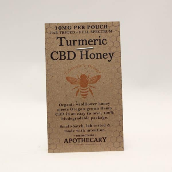 Apothecary - CBD Organic Infused Honey with Turmeric