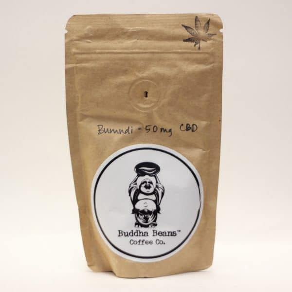 Buddha Beans Coffee Co. - 50mg CBD Coffee Beans - Burundi