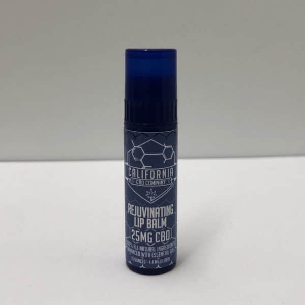 California CBD Company - 25mg CBD Peppermint Rosemary Lip Balm