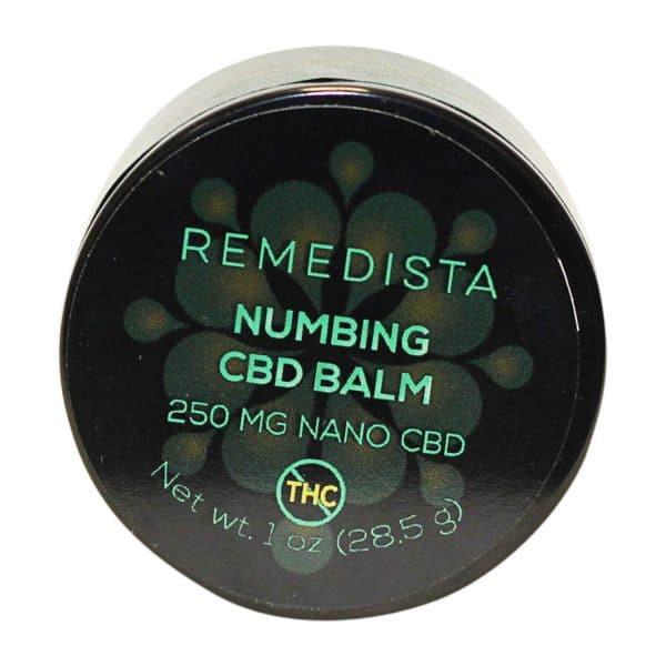 Remedista - 250mg CBD Numbing Balm