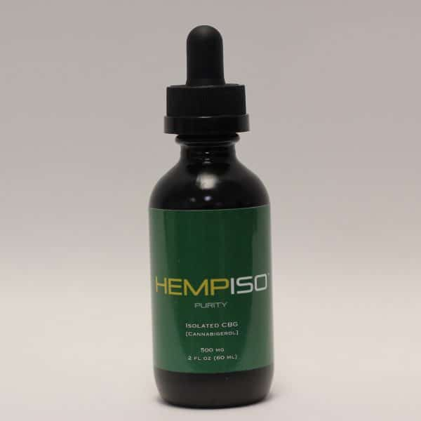 Hemp ISO - 500mg CBG Purity Tincture
