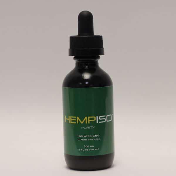 Hemp ISO - 500mg CBG Purity Tincture