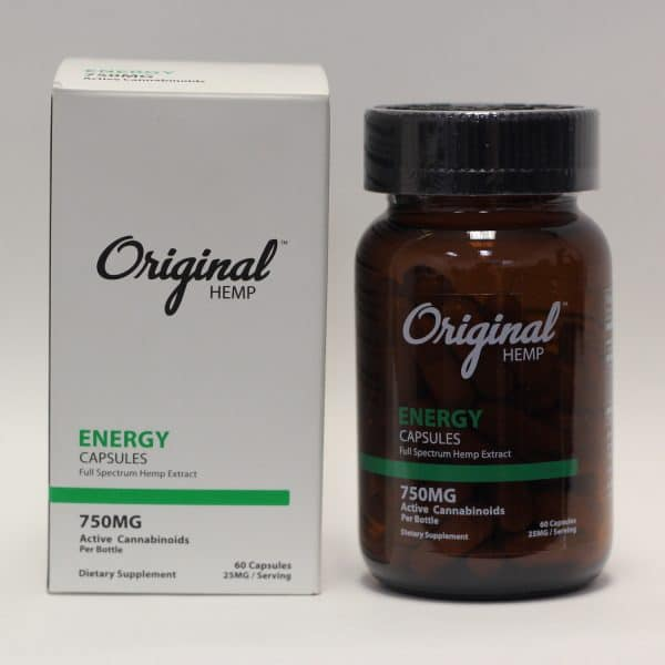 Original Hemp - 750mg CBD Energy Capsules