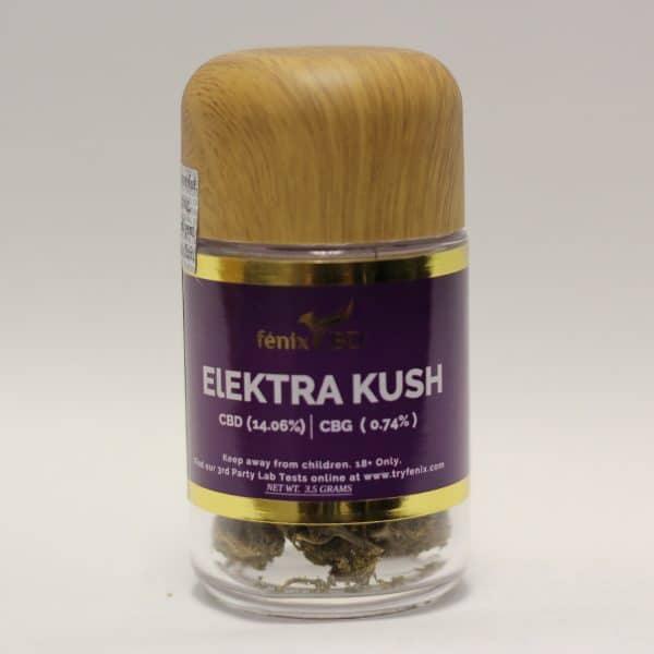 Fenix CBD - Elektra Kush Hemp Flower