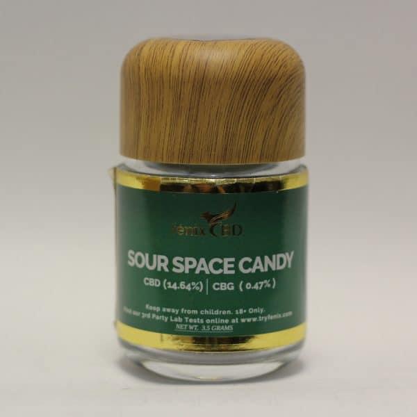 Fenix CBD - Sour Space Candy Hemp Flower