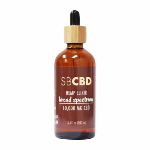 SBCBD – 10,000mg Broad Spectrum Hemp Elixir