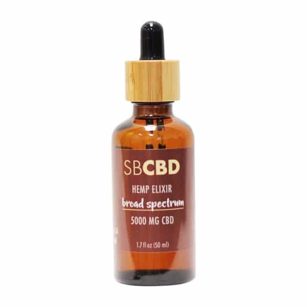 SBCBD - 5,000mg Broad Spectrum Hemp Elixir