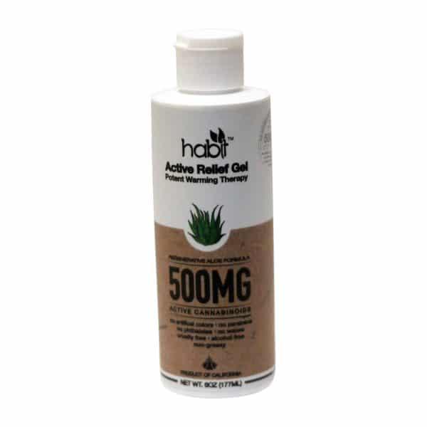 Habit CBD 500 MG Organic Full Spectrum Lab TestedActive Relief Gel