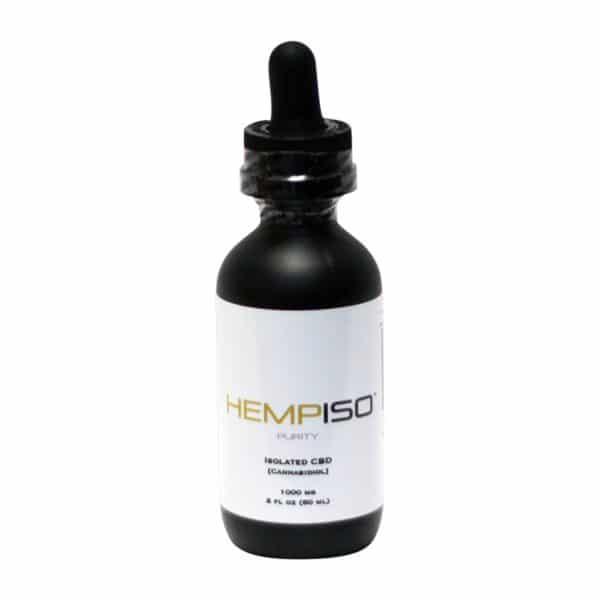 HempISO 1000 MG Purity Isolated CBD Tincutre