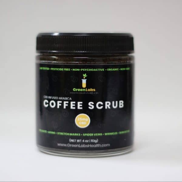 GreenLabs Coffee Scrub