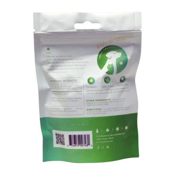 Brio Pet Treats 250 MG CBD Collagen Biscuit Treats
