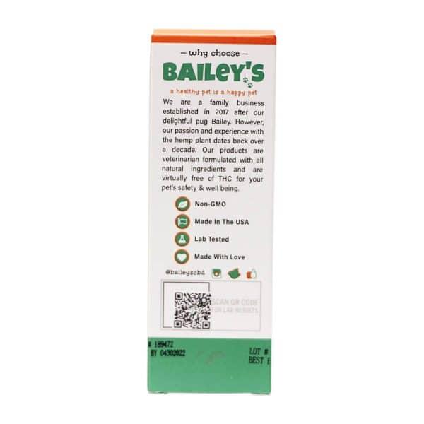 Bailey's CBD 1500 MG Lab Tested Full Spectrum CBD Horse Tincture