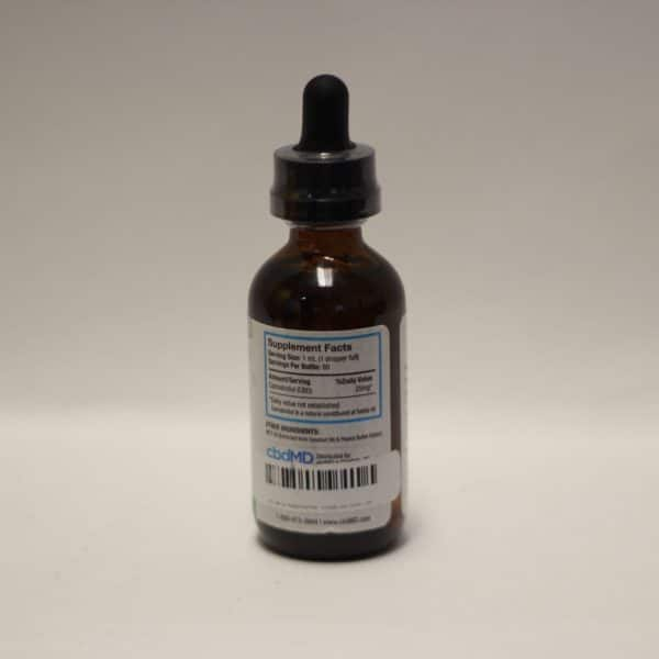 CBDMD - CBD Pet Oil 1500 MG Peanut Butter Flavor