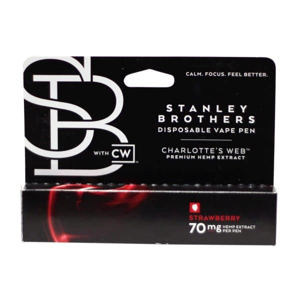 Charlottes Web Stanley Brothers 70 MG Disposable CBD Pen