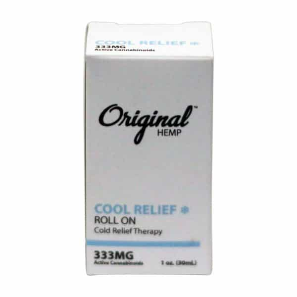 Original Hemp 333 MG Roll-on Cool Relief with Menthol