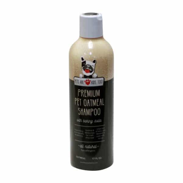 Pets Are Kids Too Premium Pet Oatmeal Shampoo With Baking Soda