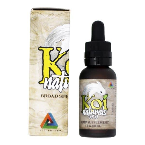 Koi Naturals - Broad Spectrum 1000 MG Lemon Lime Tincture