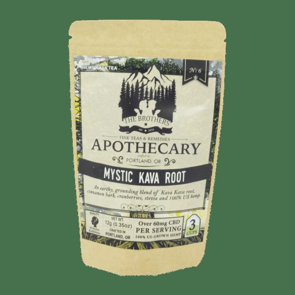 Apothecary Brothers Mystic Kava Root 60MG CBD 3 Tea Bags