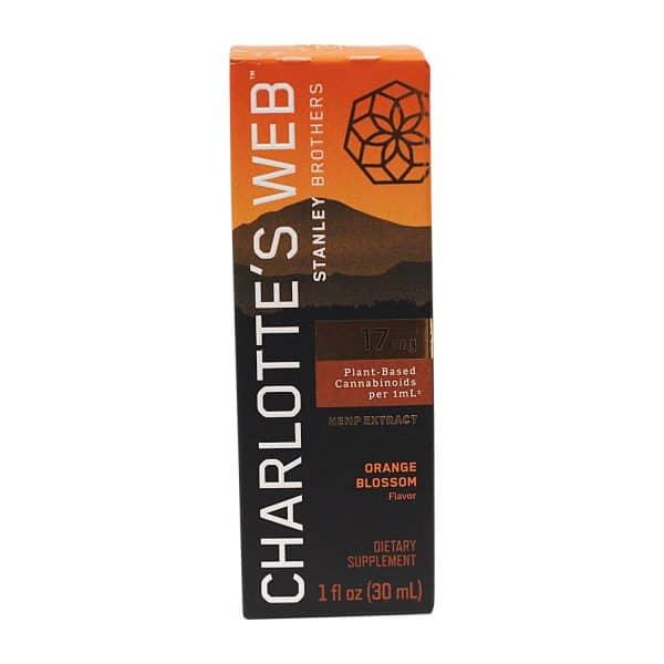 Charlotte's Web 1800MG Hemp Infused Orange Blossom Tincture