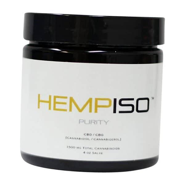 HempISO 2:1 CBD/CBG 1000MG Topical Salve