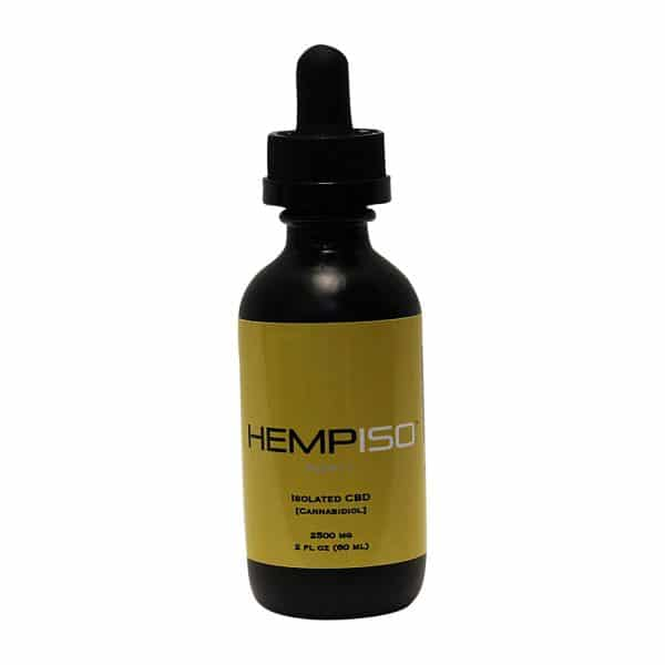 HempISO 2500MG CBD Isolated CBD Tincture