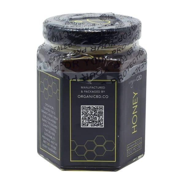 OrganiCBD 500MG Organic CBD Infused Honey