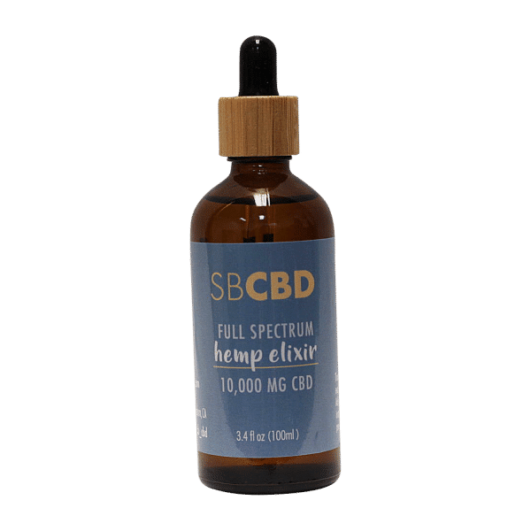 SBCBD Full Spectrum Hemp Elixir 10,000MG Hemp Extract
