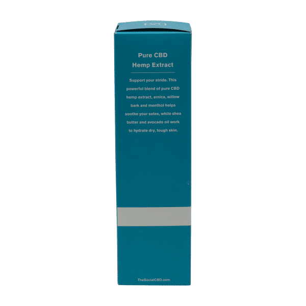 Social CBD 250MG Foot Renewal Cream