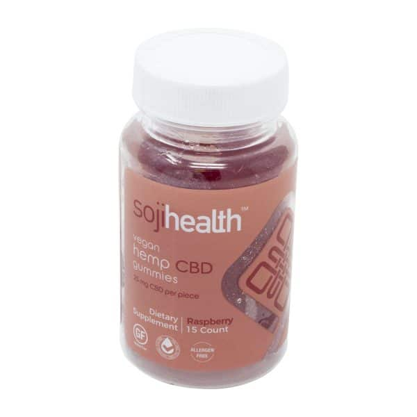 Soji Health Gummies Raspberry