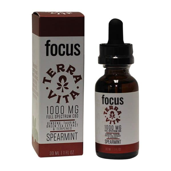 Terra Vita Focus Full Spectrum CBD 1000MG