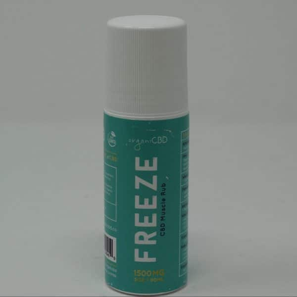 OrganiCBD Freeze Roll-On Gel 1500MG CBD Infused Pain Relief
