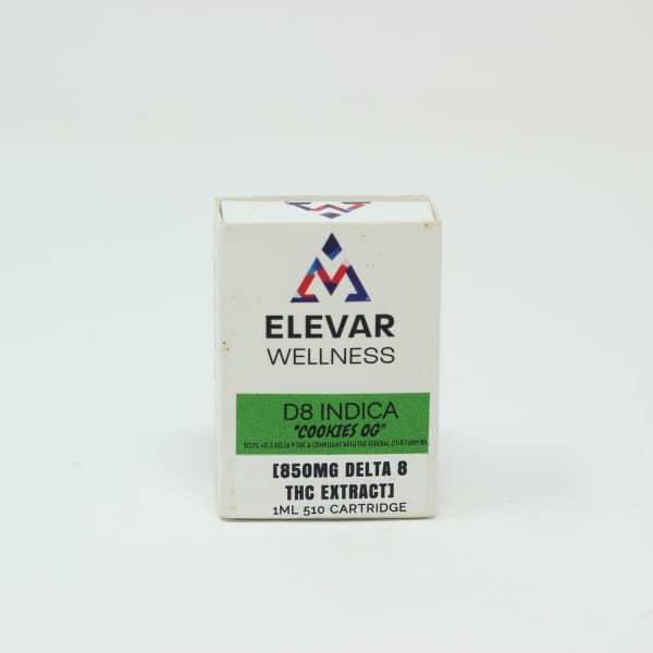 Elevar Wellness 850MG D8 Indica - Cookies OG