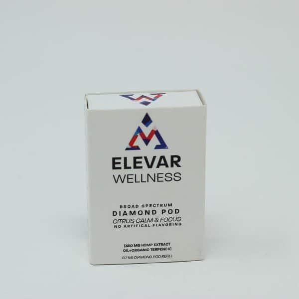 Elevar Wellness 450MG Broad Spectrum CBD Diamond Pod