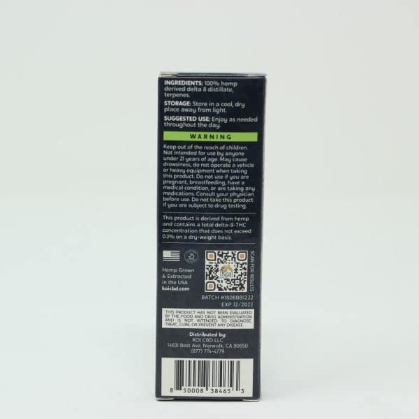 Koi 500MG Hemp Derived Delta 8 Disposable Pen - Lemon Haze