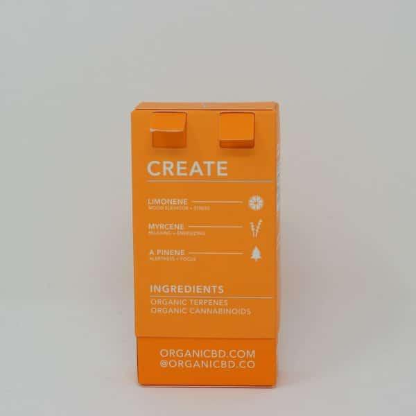OrganiCBD 1000MG CBD Vape Cartridge - Create