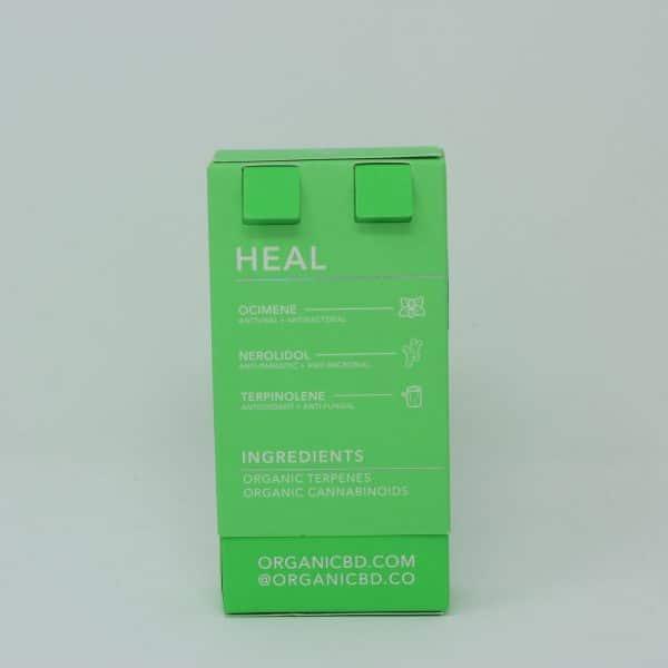 OrganiCBD 1000MG CBD Vape Cartridge - Heal