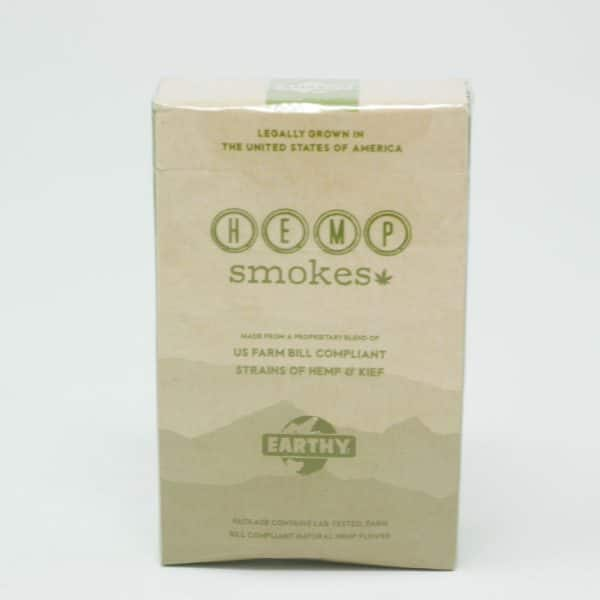 Earthy - Premium Hemp Cigarettes Flower + Kief Blend